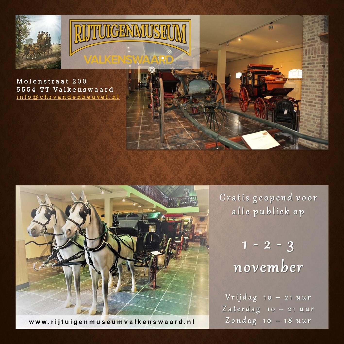 Museum geopend advertentie fb