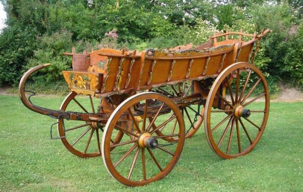 Luxe boerenwagen